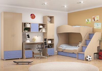Детская комната Дельта - Композиция 4